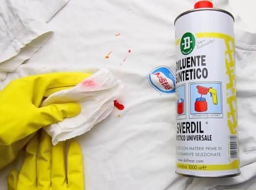 Как оттереть водоэмульсионную краску с одежды