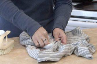 как удалить йод с одежды