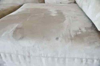 Как смыть пятно от крови с дивана