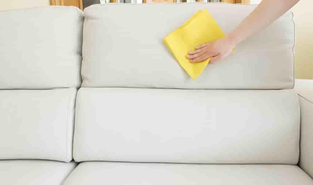 как очистить диван из ткани от чернил