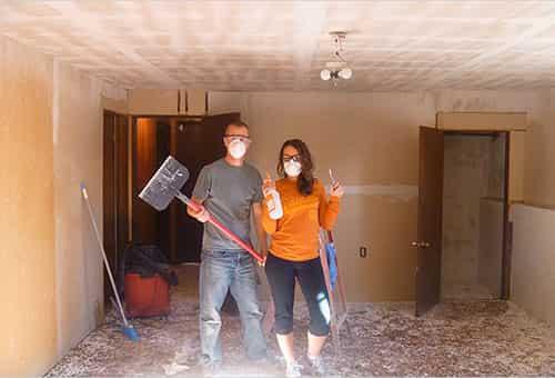 Как отмыть водоэмульсионную краску с тканевого потолка