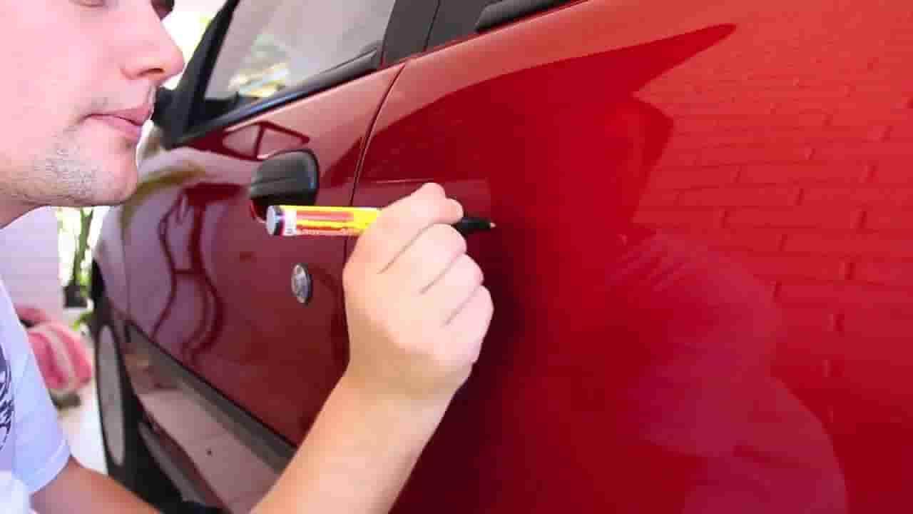 чем оттереть маркер с пластика автомобиля