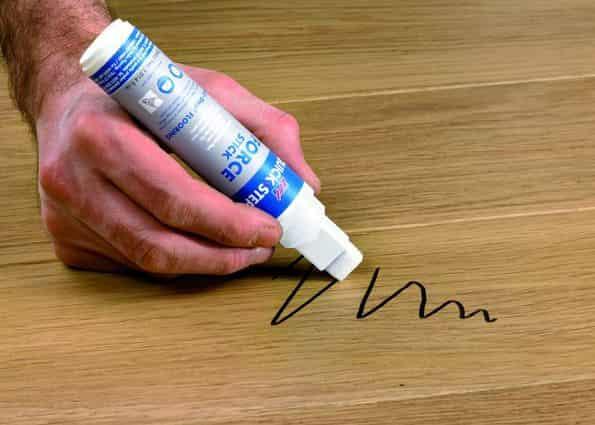 как отмыть маркер от стола