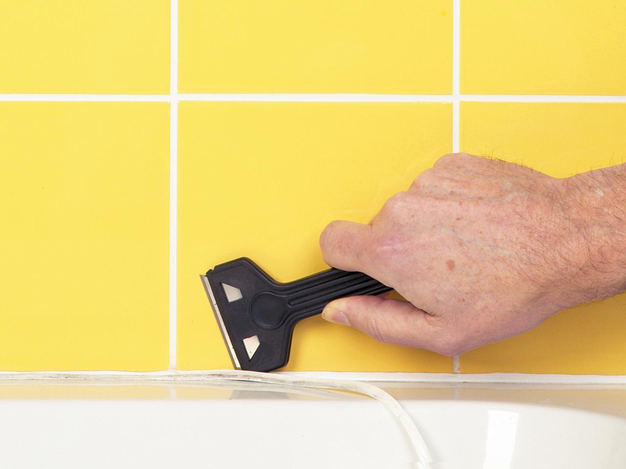 Чем оттереть санитарный герметик