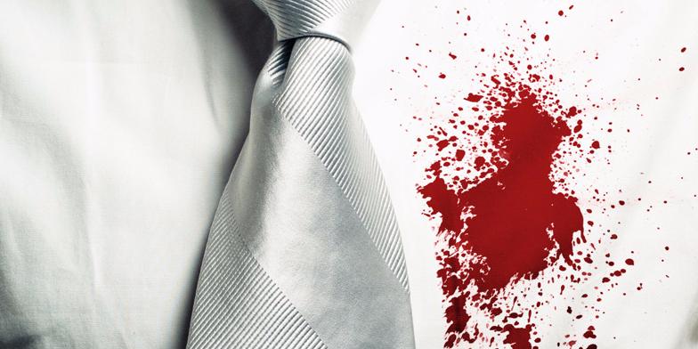 Как отстирать кровь в домашних условиях