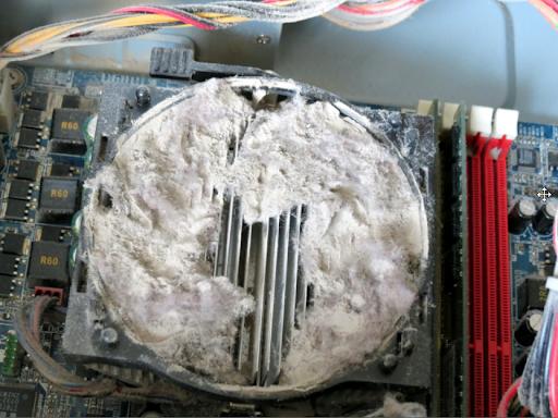 как почистить блок питания компьютера от пыли