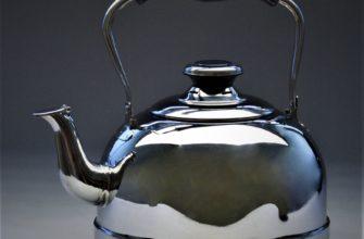 как почистить чайник из нержавеющей стали