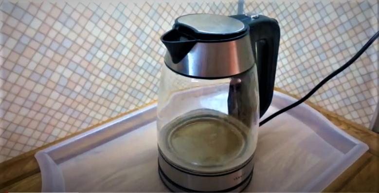 Как очистить стеклянный чайник от накипи